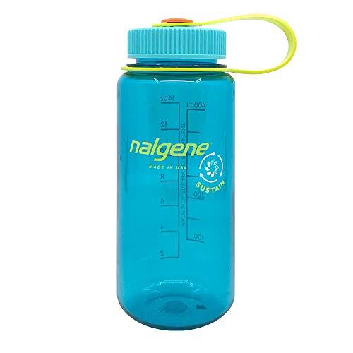 Nalgene Unisex – Botella de sostenido, Cuello Ancho, cerúlean, 0,5 l
