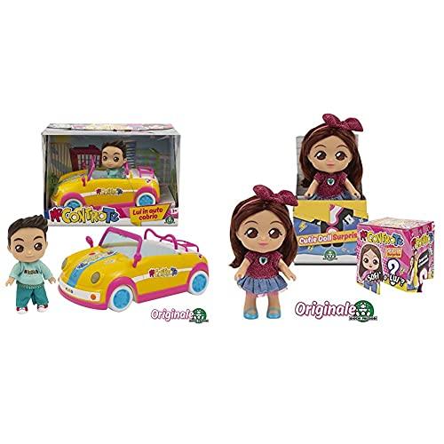 Me Contro Te- Giochi Preziosi Mini Doll 12 Cm Luì In Auto Cabrio, Multicolore, Mec30000 & - Giochi Preziosi Sofì E Luì, Mini Personaggi 12 Cm, Assortiti, Multicolore, Mec45000