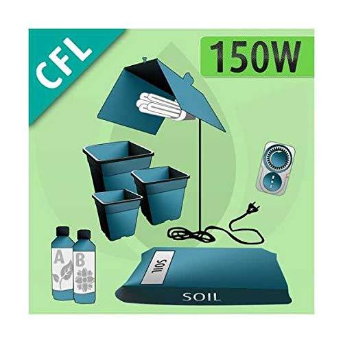Kit Coltivazione Indoor Terra 150w - CFL