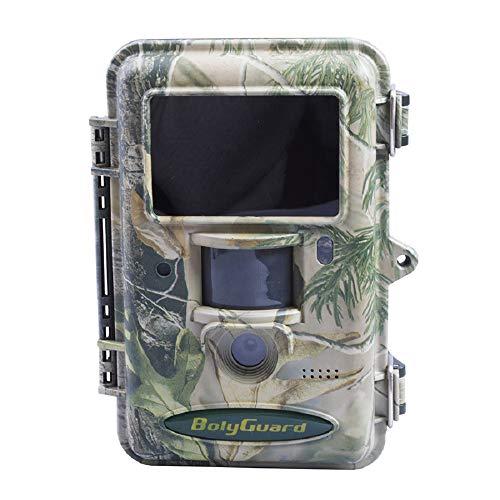 ScoutGuard SG2060K Wildkamera für Jagd, 36 MP, 1080P, scharf mit Nachtsicht, Wildlife Scouting Kamera mit 30,5 m, Erkennung 940 nm, LED, schwarz, IR, kein Leuchten, wasserdicht