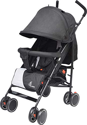 R for Rabbit Twinkle Twinkle Stroller Compact Travel Friendly Pram for Baby|Kids|Infants|New Born|Boys|Girls of 0 to 3 Years(Black...