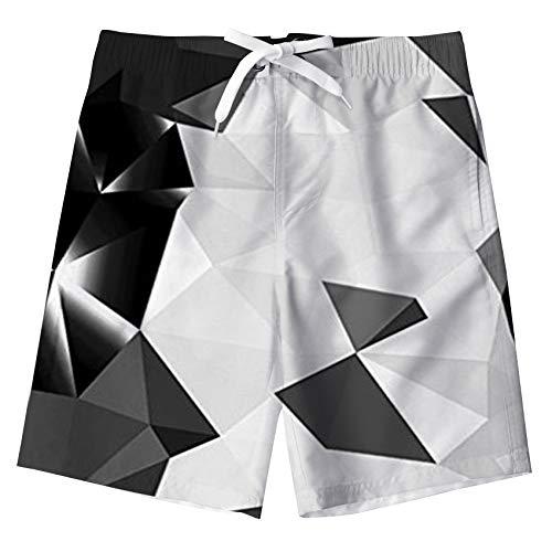 Fanient Jung Bademode Badeanzüge Diamantdruck Surfbrett Boxershorts Badehosen Shorts