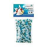 Petco Brand - Mezcla de acento de grava para acuario Imagitarium Surf Glass, 10 oz., Multicolor