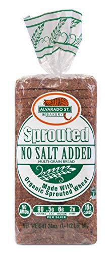 Alvarado Street Bakery Organic Sprouted Multi Grain Bread, 24 Ounce - 6 per case.