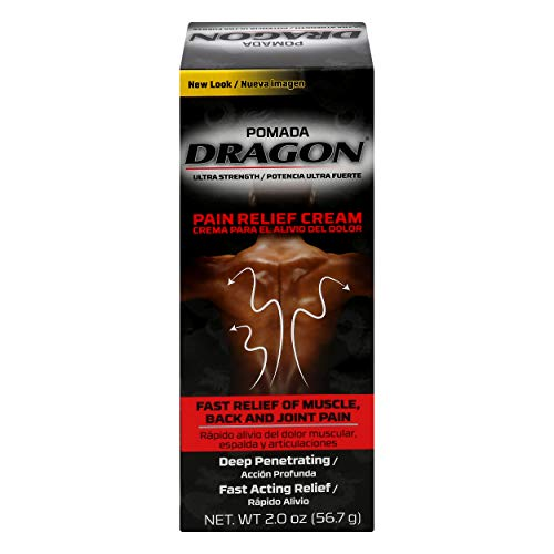 Dragon Genomma Lab Muscle Aches/Arthritis Pain, Black, 2 Ounce