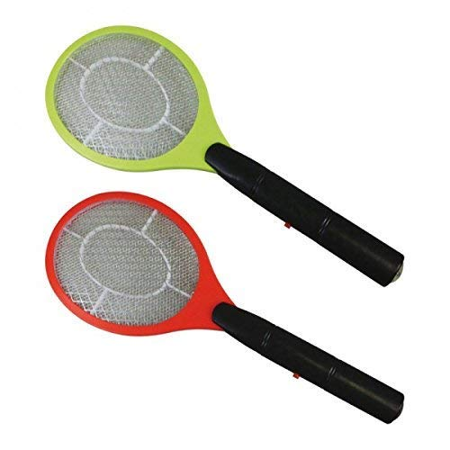 Elektrische Fliegenklatsche, Fliegenfänger, Mückenfänger von KYNAST mit Batterien inkl.