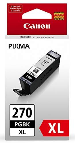 Canon PGI-270XL Pigment Black Ink Tank Compatible to MG6820, MG6821, MG6822, MG5720, MG5721, MG5722, MG7720, TS5020, TS6020, TS8020, TS9020