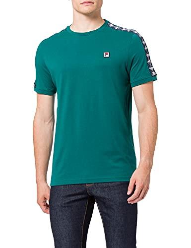 Fila Men Horace Ringer tee Camiseta, Gris, XXL para Hombre