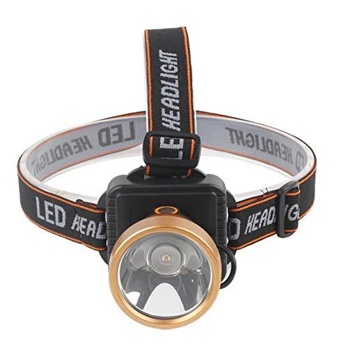 Starnearby ext/érieur LED rechargeable lampe frontale 3000lm d/étecteur de mouvement P/êche Phare