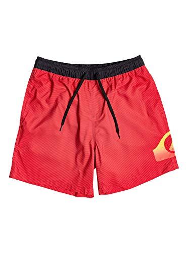 "Quiksilver Dredge 17""-Bermuda da Bagno da Uomo, High Risk Red, XL"