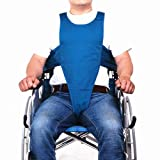 Wheelchair Harness Restraint System, Adult Torso Support Belt to Prevent Elderly/Disabled/Disabled People from Tilting or lowering to Promote Posture Alignment