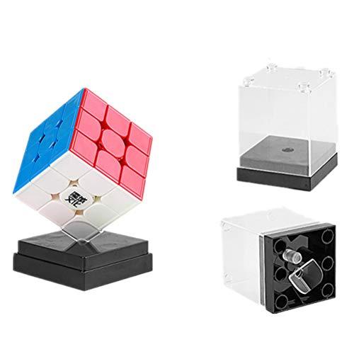 OJIN MoYu WEILONG GTS3 3x3 Puzzle Magic Cube WEILONG GTS V3 Twist Puzzle Cube con One Cube Bag y One Cube Tripod (Sin Etiquetas)