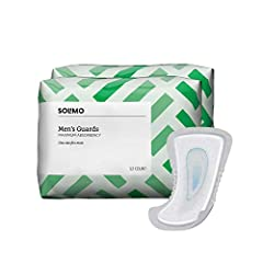 Includes 104 maximum absorbency incontinence guards for men (2 packs of 52) Maximum absorbency to quickly lock away wetness Dri-Fit helps to control moisture and temperature to help your skin stay dry, comfortable and healthy Cotton enhanced topsheet...