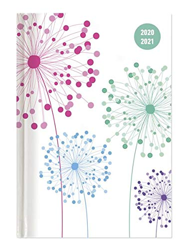 Collegetimer Blowballs 2020/2021 - Schüler-Kalender A5 (15x21 cm) - Pusteblume - Day By Day - 352 Seiten - Terminplaner - Notizbuch - Alpha Edition (Collegetimer A5 Daily)