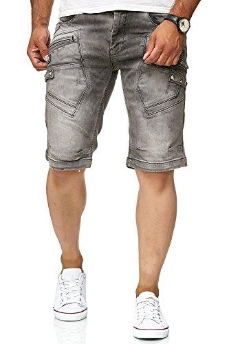 Red Bridge R31151 Short en jean pour homme - Gris - 30W