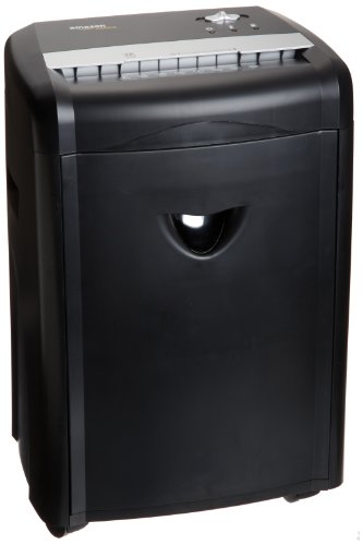 AmazonBasics 12-Sheet High-Security Micro-Cut Paper, CD and Credit Card Home Office Shredder with...
