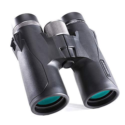 Telescopio Binoculares Prismáticos 8X   10X Ocular de 42 Mm HD de Gran Aumento Al Aire Libre Observación de Aves Telescopio para la Caza de Senderismo,Black-8X