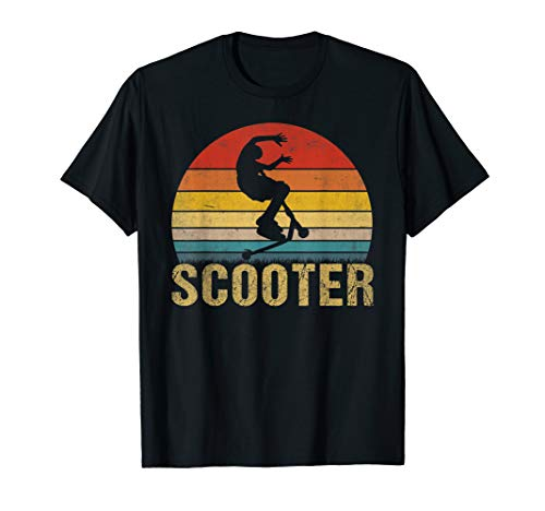 Stunt Scooter Shirt Cool Foot Scootering Equipment Gift Tee