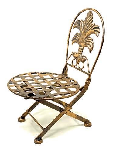DanDiBo Blumenhocker Stuhl klappbar Blumenständer Pflanzenständer 32 cm Puppenstuhl