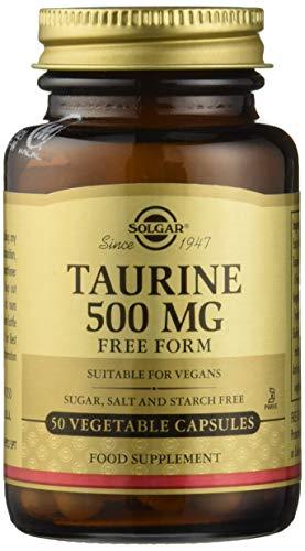 SOLGAR Taurin 500mg / 50cap, 60 g