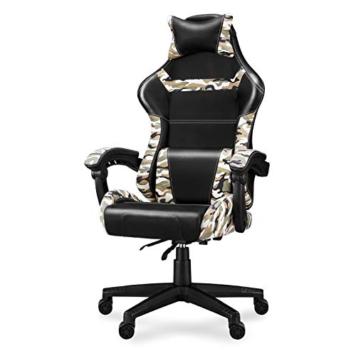 Camouflage Gaming Chair Camo Computer Video Game Chairs Office Chair