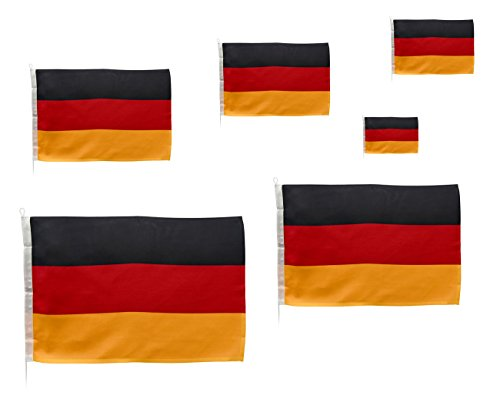 Navyline Gastlandflagge Deutschland, Größe:20 x 30 cm