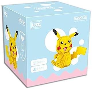 LOZ Diamond Blocks Cartoon Animals Japanese Anime Action Figures Micro Bricks Cartoon Series Pikachu Blocks Buildings Toys