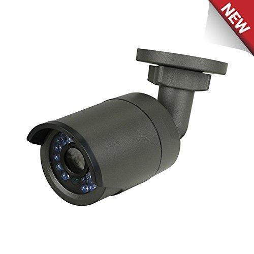 LTS Platinum 4.1MP Mini IR Bullet IP Camera: Black, 4mm, WDR, 100 ft Infrared, PoE/12v DC, IP66, ICR, Onvif, 3yr