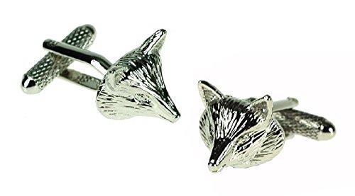 Fox Design Cufflinks in Gift Box - Onyx-Art London CK624