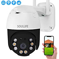Soullife WiFi 1080P HD Outdoor Security Camera