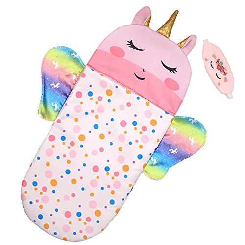 ZWOOS Puppenschlafsack mit Schlafmaske für Babypuppen, weiches Zubehör für 25-38 cm Puppen