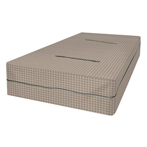 GWHW Protector de colchón para cama doble, cubierta total con cremallera para protección contra insectos de cama, protectores de colchones, cubiertas con cremallera, polvo, ácaros, funda de colchón
