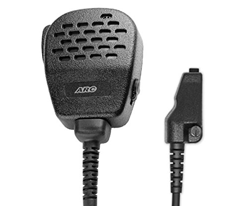 Lowest Prices! ARC S12012 Heavy Duty Noise Cancelling Speaker Microphone (IP54 Rated) for Kenwood Mu...