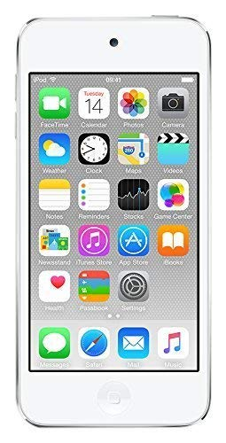 Apple iPod touch 128GB Silver (6th Generation) (Renewed)