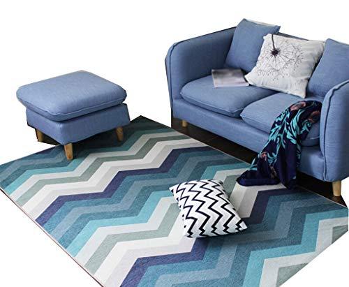 Area tapijten, eenvoudige kleur geometrische vorm woonkamer salontafel slaapkamer dikker bed deken milieu afdrukken en verven tapijt