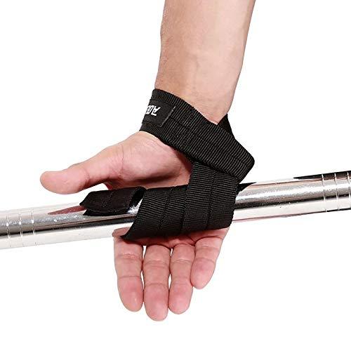 Gather together L B 1 Pair Men Weightlifting Hand Belt Anti-Slip Sport Fitness Wrist Wraps Straps Gym Support Lifting Grip Belt Fitness Bodybuilding