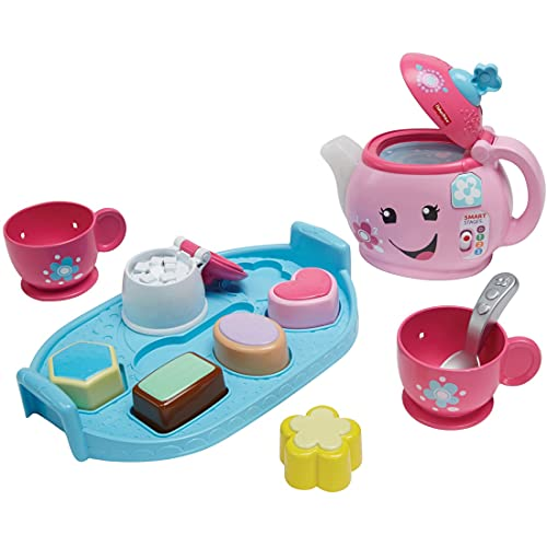 Product Image of the Fisher-Price Laugh & Learn Sweet Manners Tea Set, Brown/A