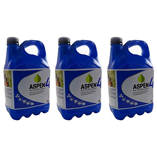 Aspen 15L Sonderkraftstoff 4-Takt Alkylatbenzin 3 x 5 Ltr. Sparset