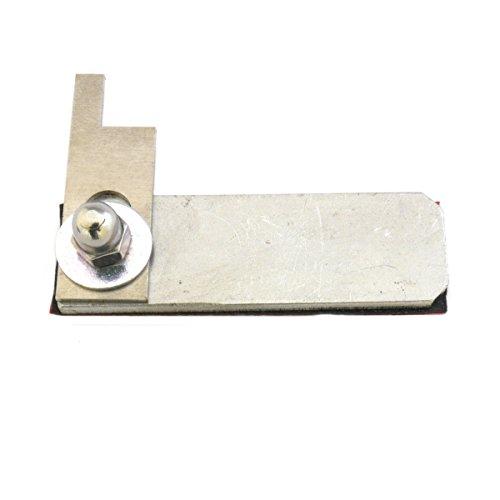 Briefkastenverschluss CLOSE - Klappensperre bzw. Klappenverschluss für alle gängigen Briefkästen einsetzbar - einfach auf der Innenseite ankleben und Hebel drehen