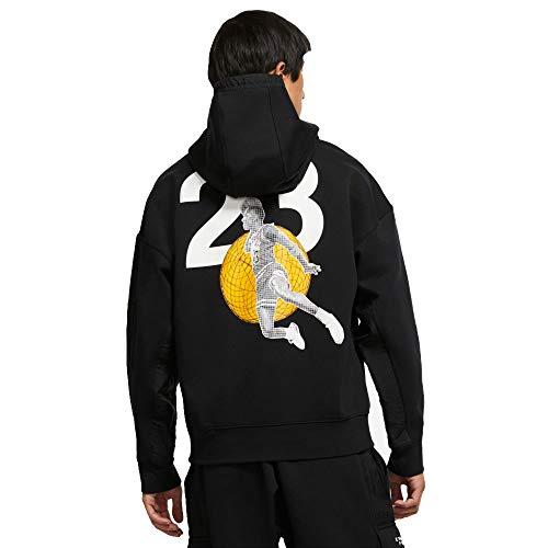 Nike Jordan 23 Engineere - Sudadera con capucha, color negro y blanco blanco/negro M