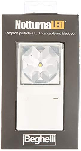 Beghelli 34688-10 Lampada Emergenza Notturna, LED, Bianca, Multicolore