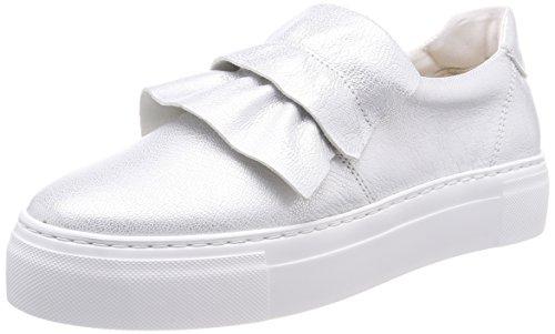 Marc O'Polo Damen 80114463503101 Sneaker, Silber (Silver), 40 EU