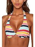 Esprit Treasure Beach Flexi Parte de Arriba de Bikini, Amarillo (Sunflower Yellow 730), 85B (Talla del Fabricante: 36 B) para Mujer