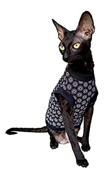 Kotomoda T-shirt en coton stretch pour chat Sphynx Taille M