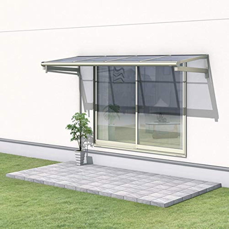 蘇生するゆり甘くする三協アルミ レボリューA 0.5間×2尺 600タイプ/関東間/1?2階用F型/柱なし式/単体 防汚ポリカ *雨トイは3m×2本を手配します 『テラス屋根』 *屋根カラーはクリアのみ サンシルバー