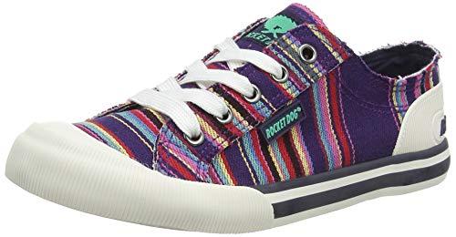 Rocket Dog Jazzin, Zapatillas para Mujer, Multicolor (Aloe Navy...