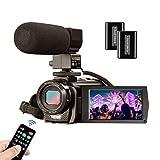 Videocamera MELCAM Fotocamera Digitale Full HD 1080P 30FPS 24MP...