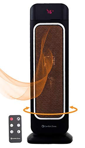 Oscillating Space Heater – Ceramic Forced Fan...