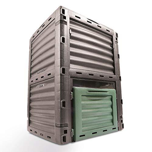 Koopman International b.v Garten Komposter Kunststoff (In Europa hergestellt) 300l