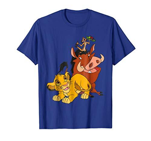 Disney The Lion King Young Simba Timon and Pumbaa T-Shirt